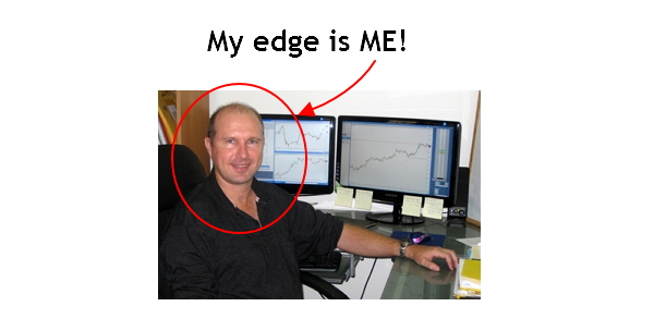 My edge is ME!