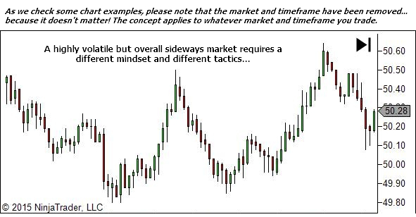 Flow with the market and adapt to the environment it provides