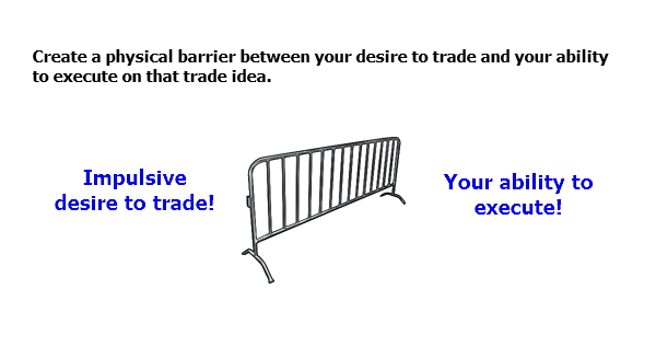 If you suffer from too much impulsive trading...