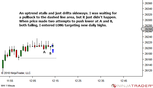 <image: An exit is never final... until the market SAYS it's final>